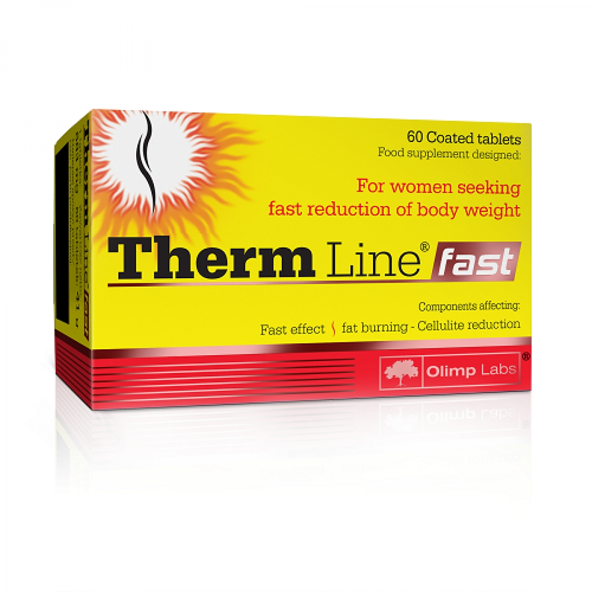 THERM LINE FAST, 60 TABLETS