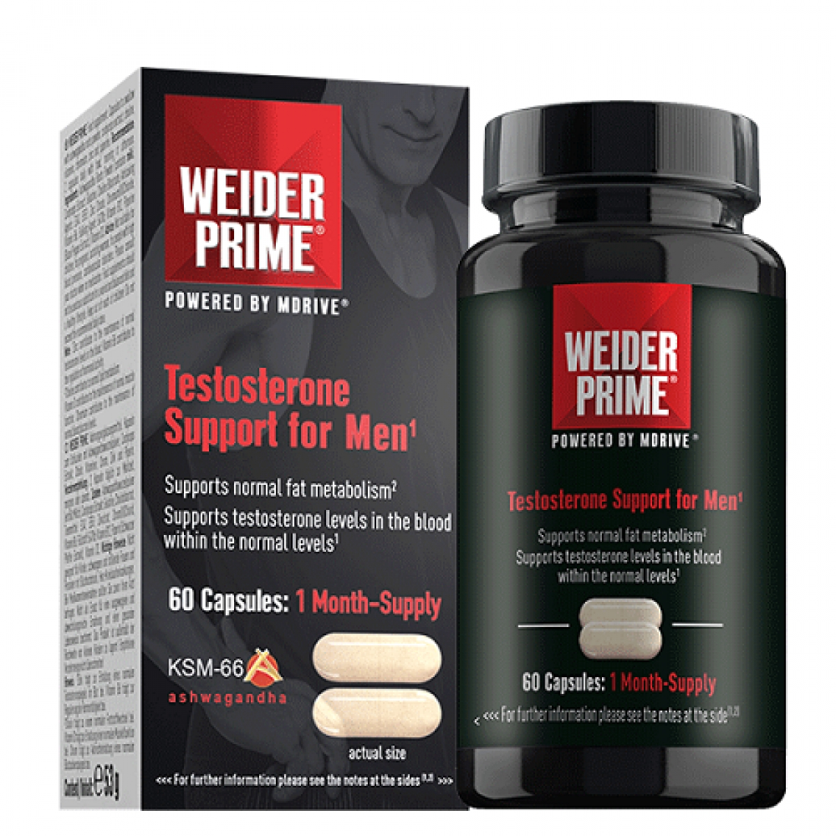 WEIDER TESTOSTERONE SUPPORT, 60 КАПСУЛ