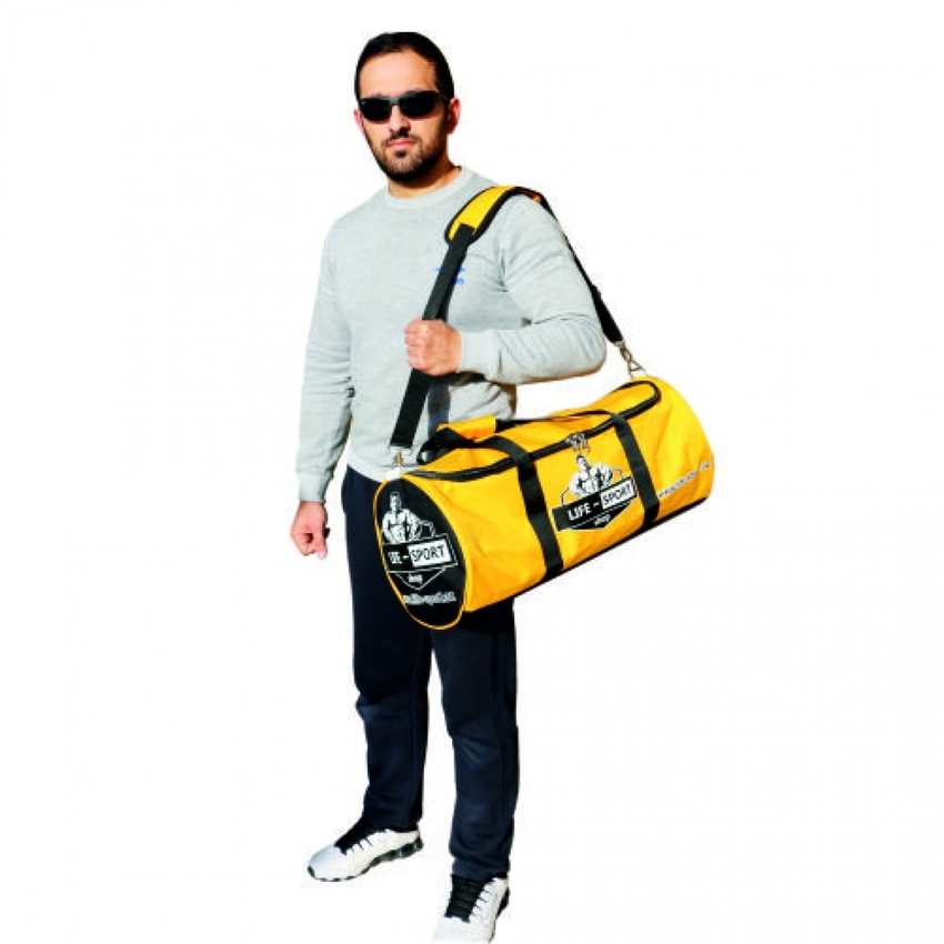 CYLINDER BAG / YELLOW