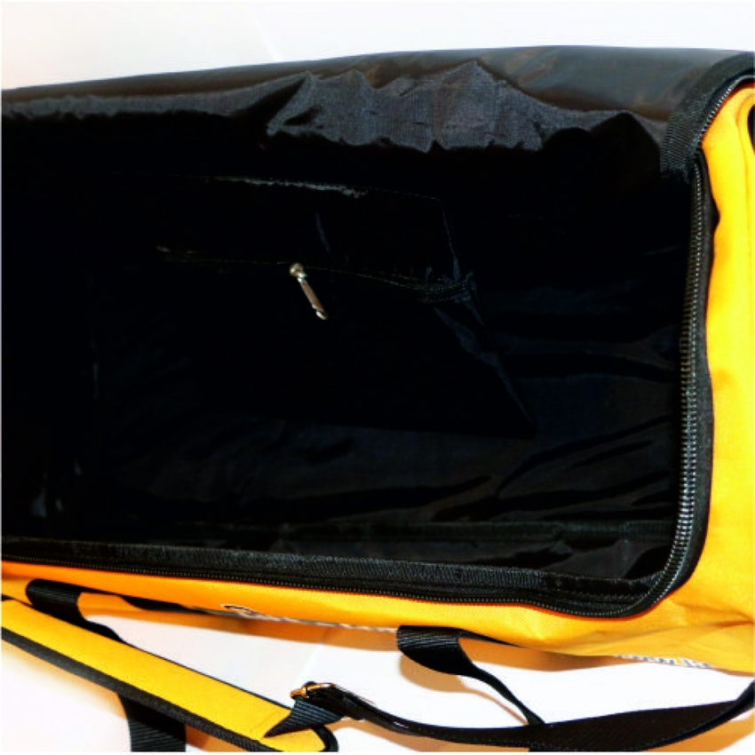 LIFE-SPORT  CYLINDER BAG / YELLOW