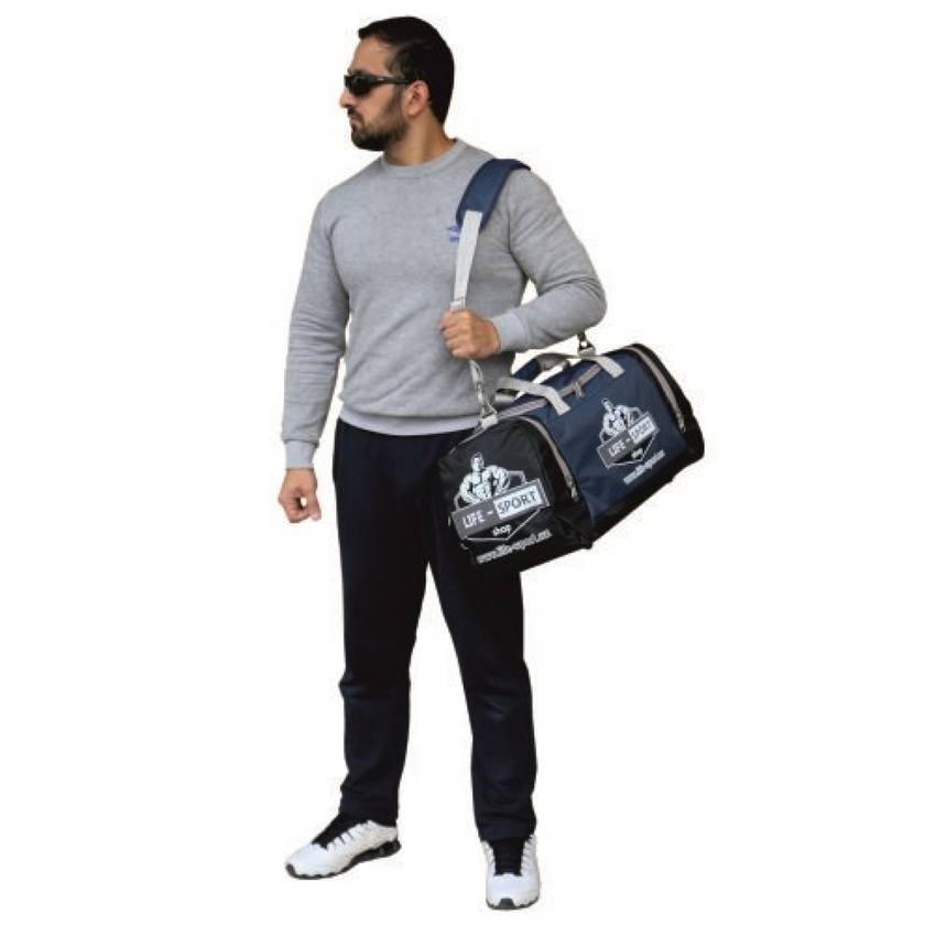 DUFFEL BAG / BLUE