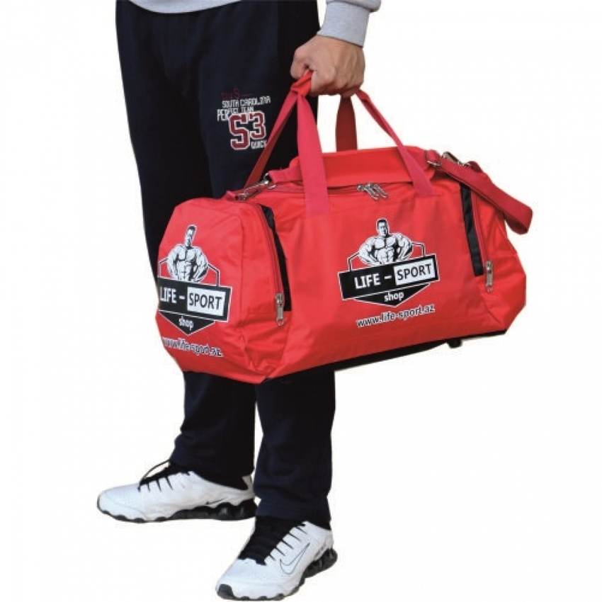 DUFFEL BAG / RED