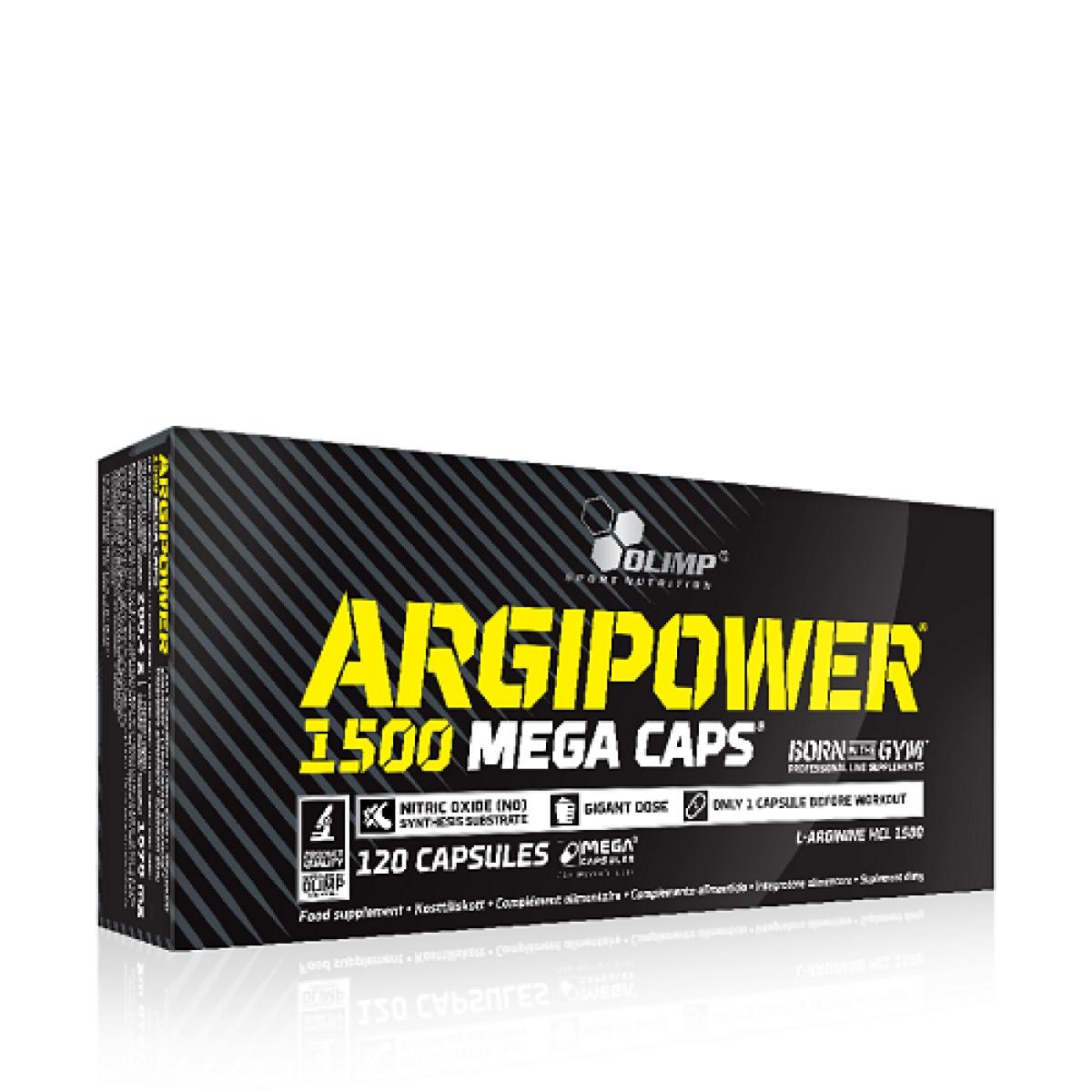 ARGIPOWER 1500 MEGA CAPS, 120 CAPSULES