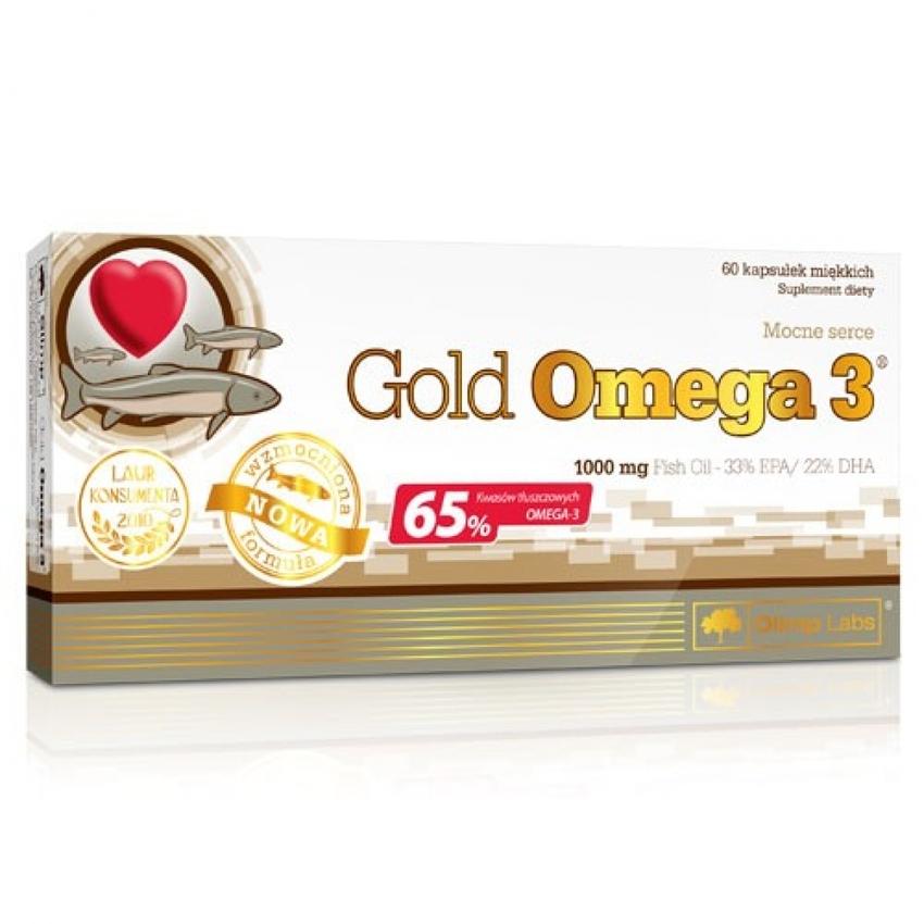 GOLD OMEGA 3, 60 CAPSULES