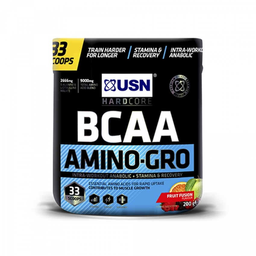 USN BCAA AMINO-GRO, 200 QR