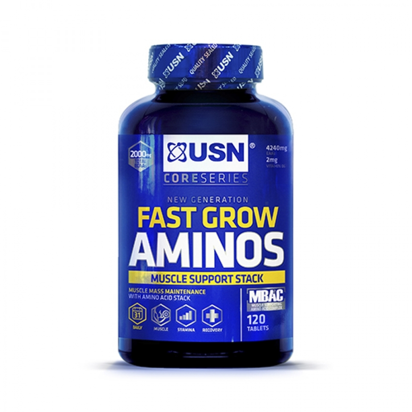 FAST GROW AMINO'S STACK, 120 TABLET