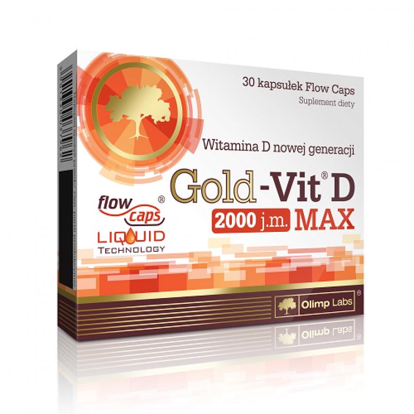 Gold-Vit D Max 30 CAPSULE