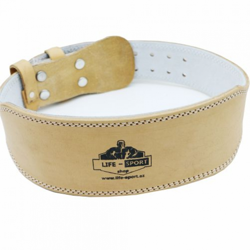 WEIGHT LIFTING BELT LEATHER, 4 INCH