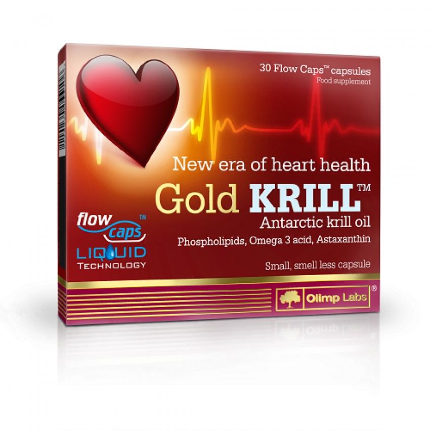 GOLD KRILL, 30 CAPSULES