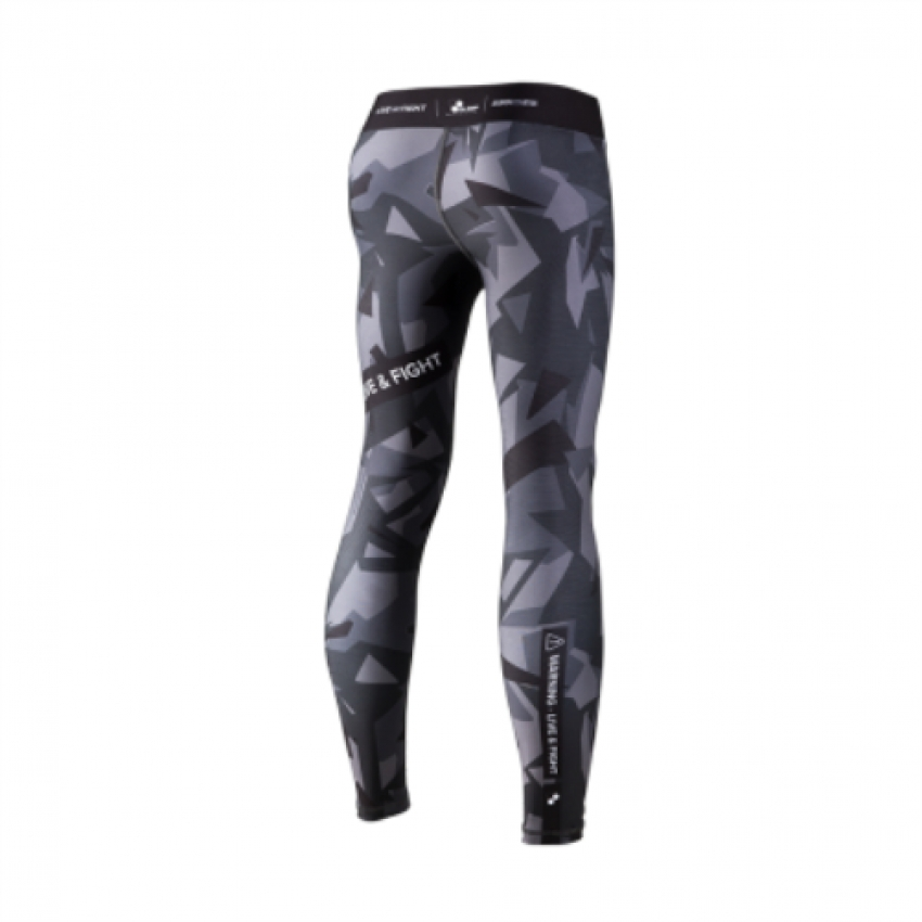 MEN`S LEGGINGS-ATHLETIC CAMO