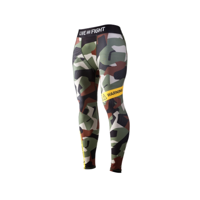 MEN`S LEGGINGS-ATHLETIC CAMO CLASSIC