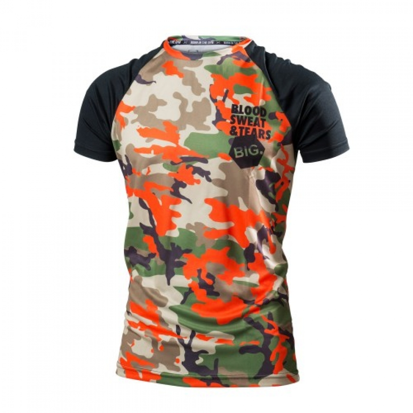 MEN`S T-SHIRT RWILD CAMO
