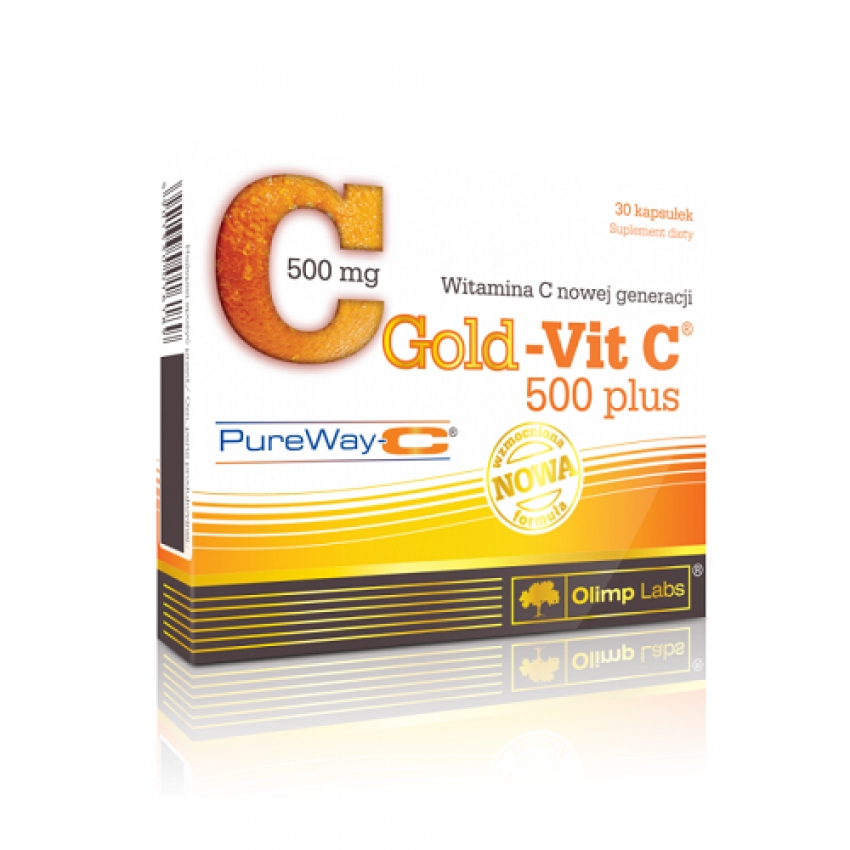 Gold-Vit C 500 plus, 30 капсул