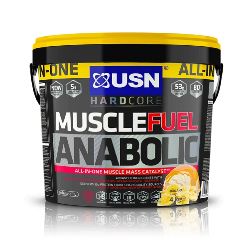 MUSCLE FUEL ANABOLIC, 4000 G
