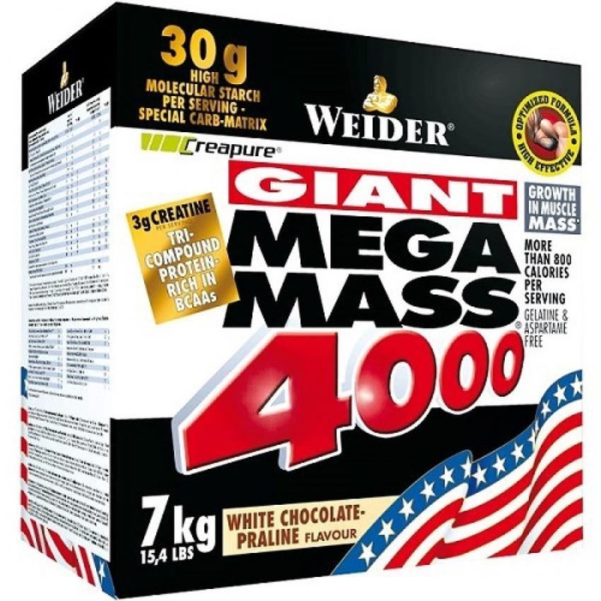 WEIDER MEGA MASS 4000, 7000 G