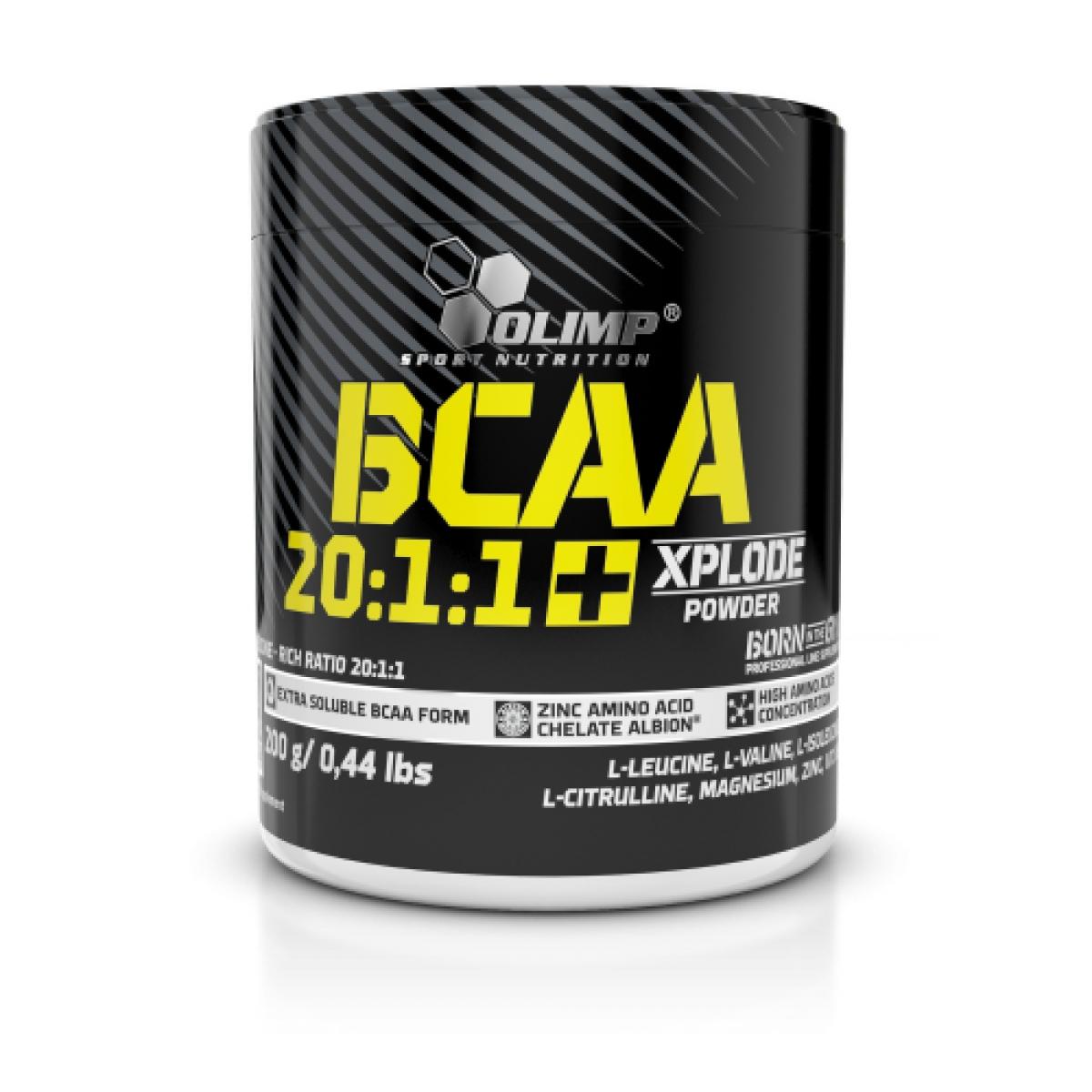 BCAA 20:1:1, 200 G