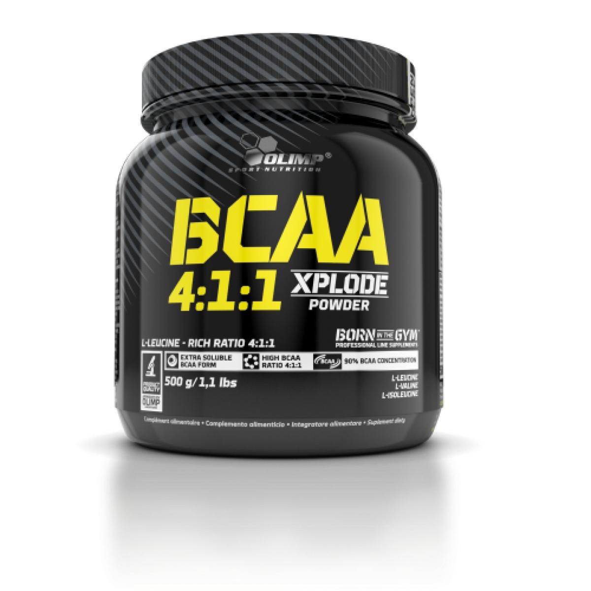BCAA 4:1:1, 500 QR