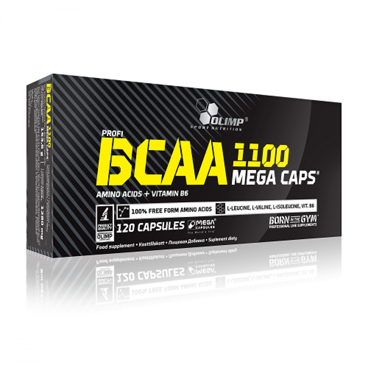 BCAA MEGA CAPS, 120 КАПСУЛ