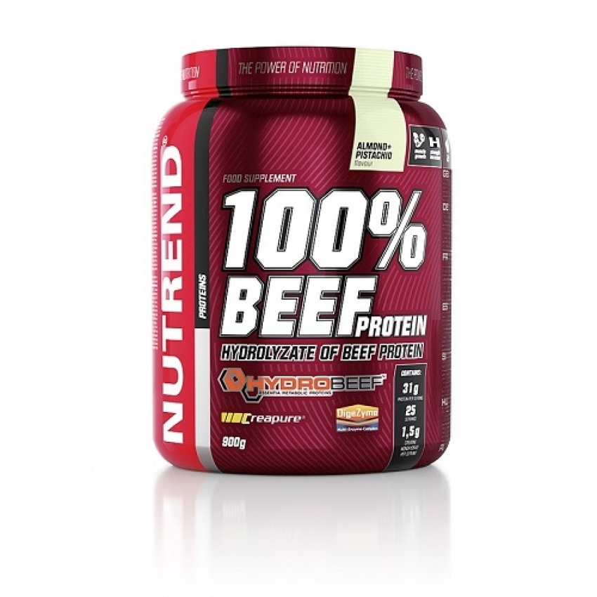 NUTREND 100 % BEEF PROTEIN, 900 QR