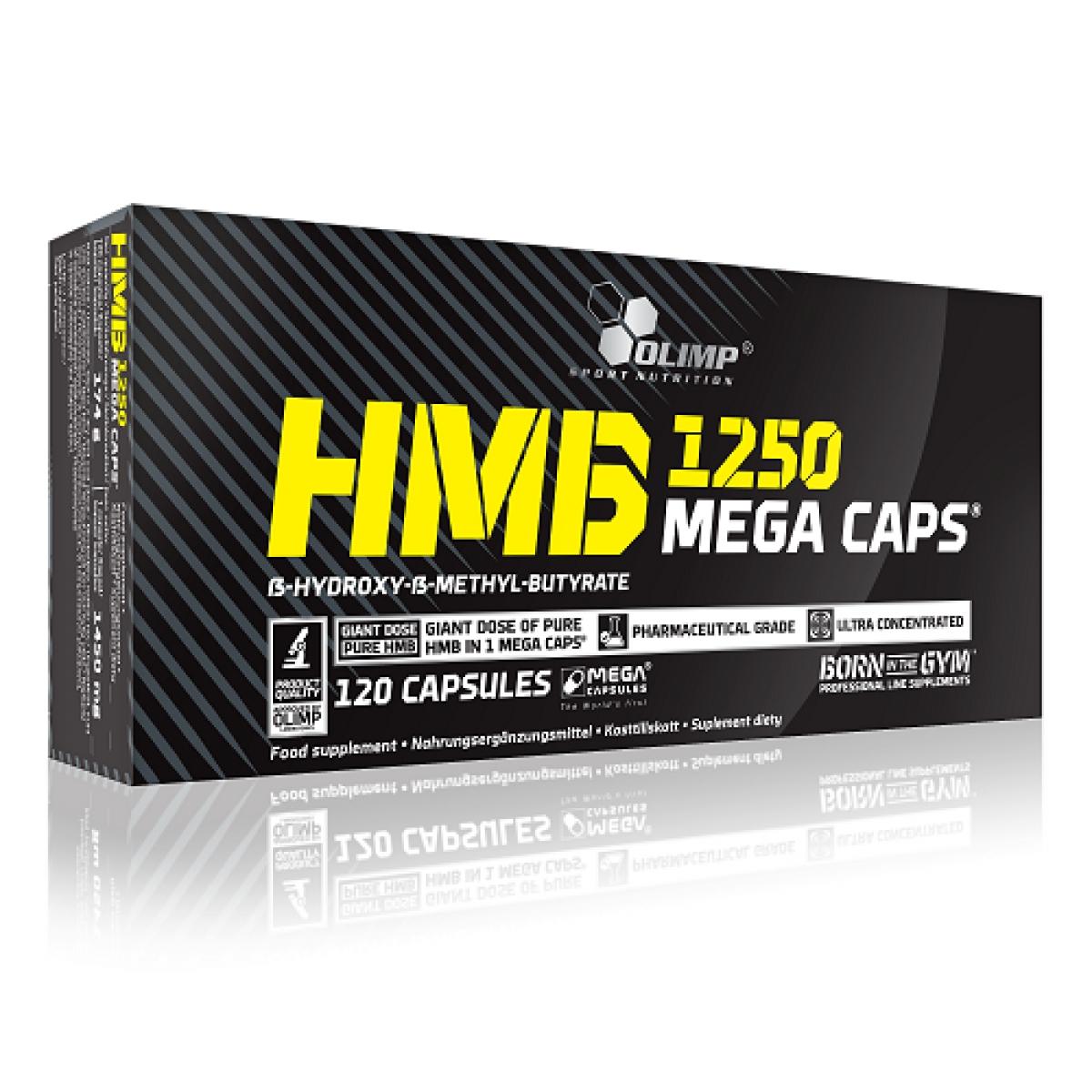 OLIMP HMB MEGA CAPS, 120 CAPSULES