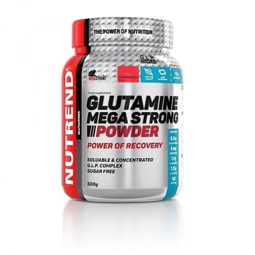 NUTREND GLUTAMINE MEGA STRONG, 500 Г