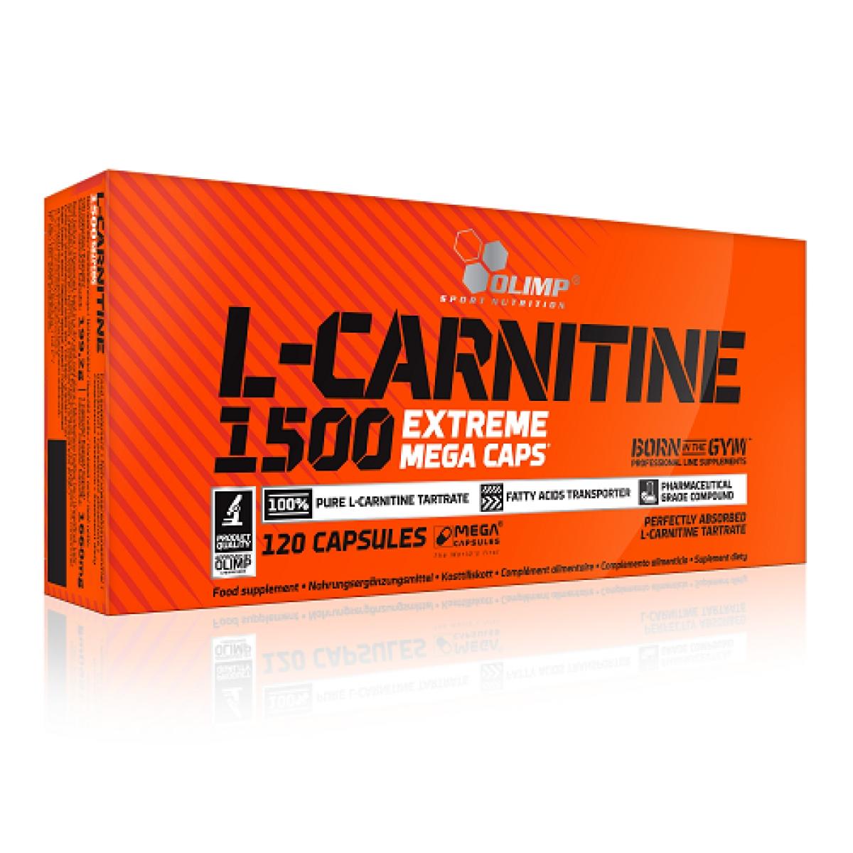 L-CARNITINE 1500, 120 CAPSULES