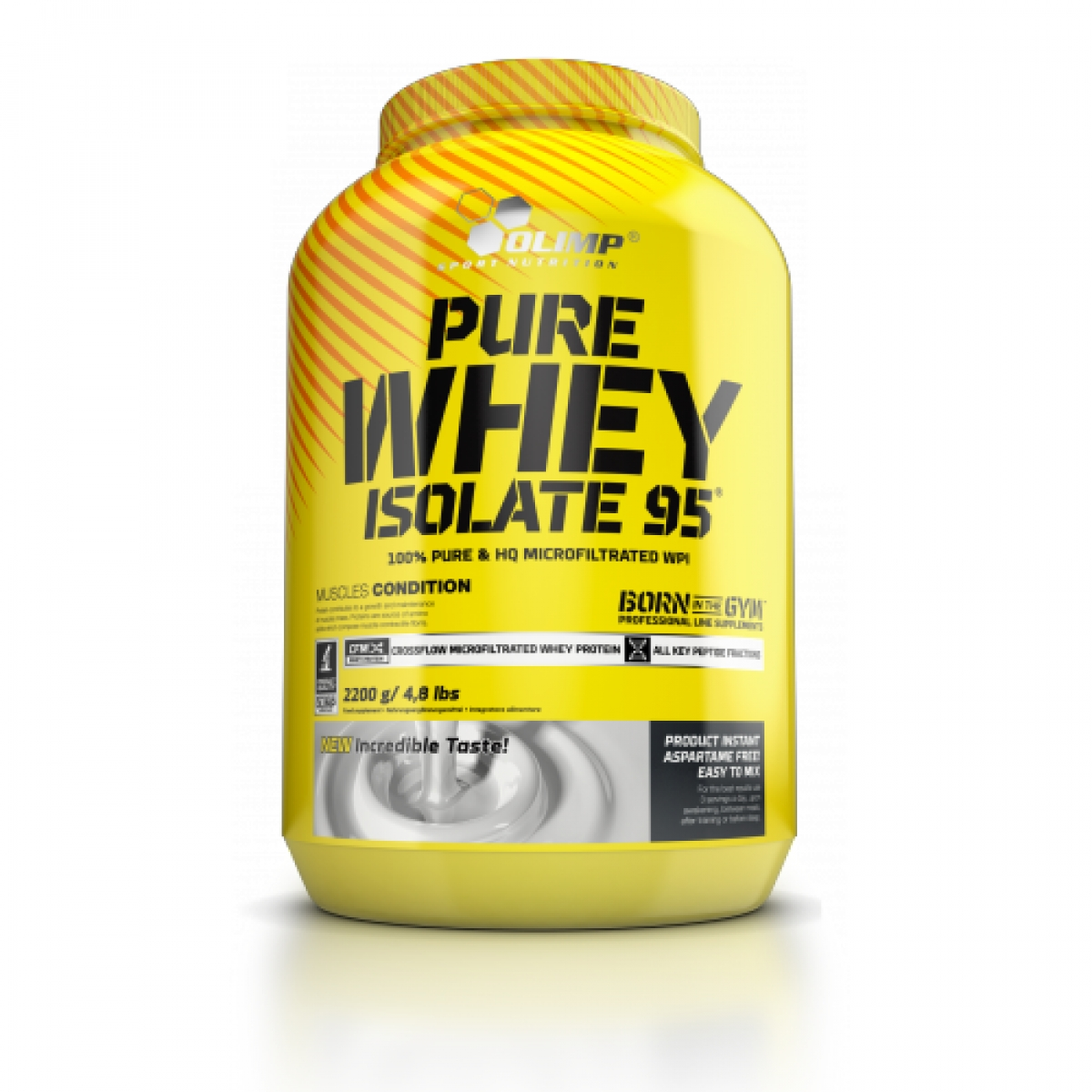 PURE WHEY ISOLATE 95, 2200 QR