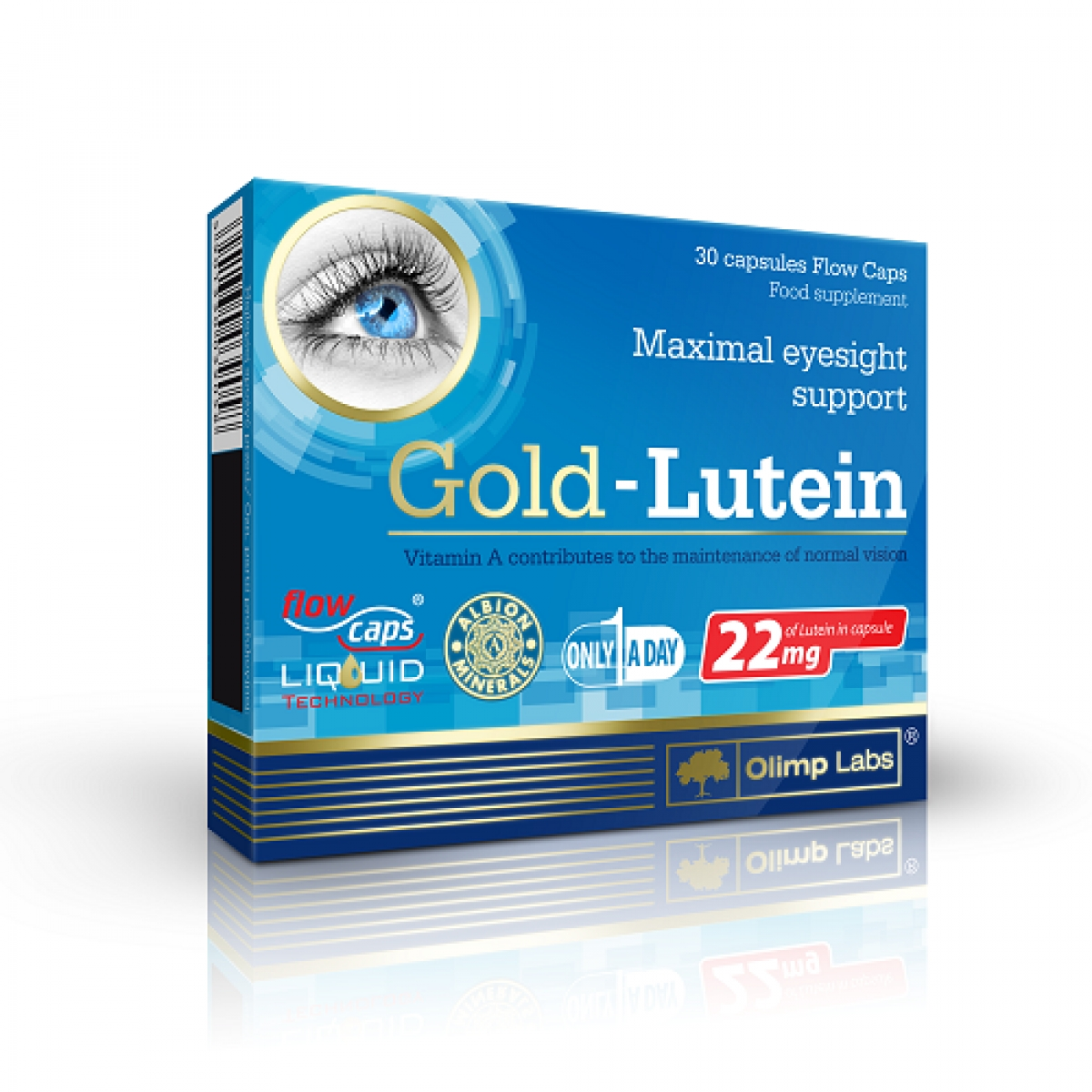 GOLD LUTEIN, 30 CAPSULES