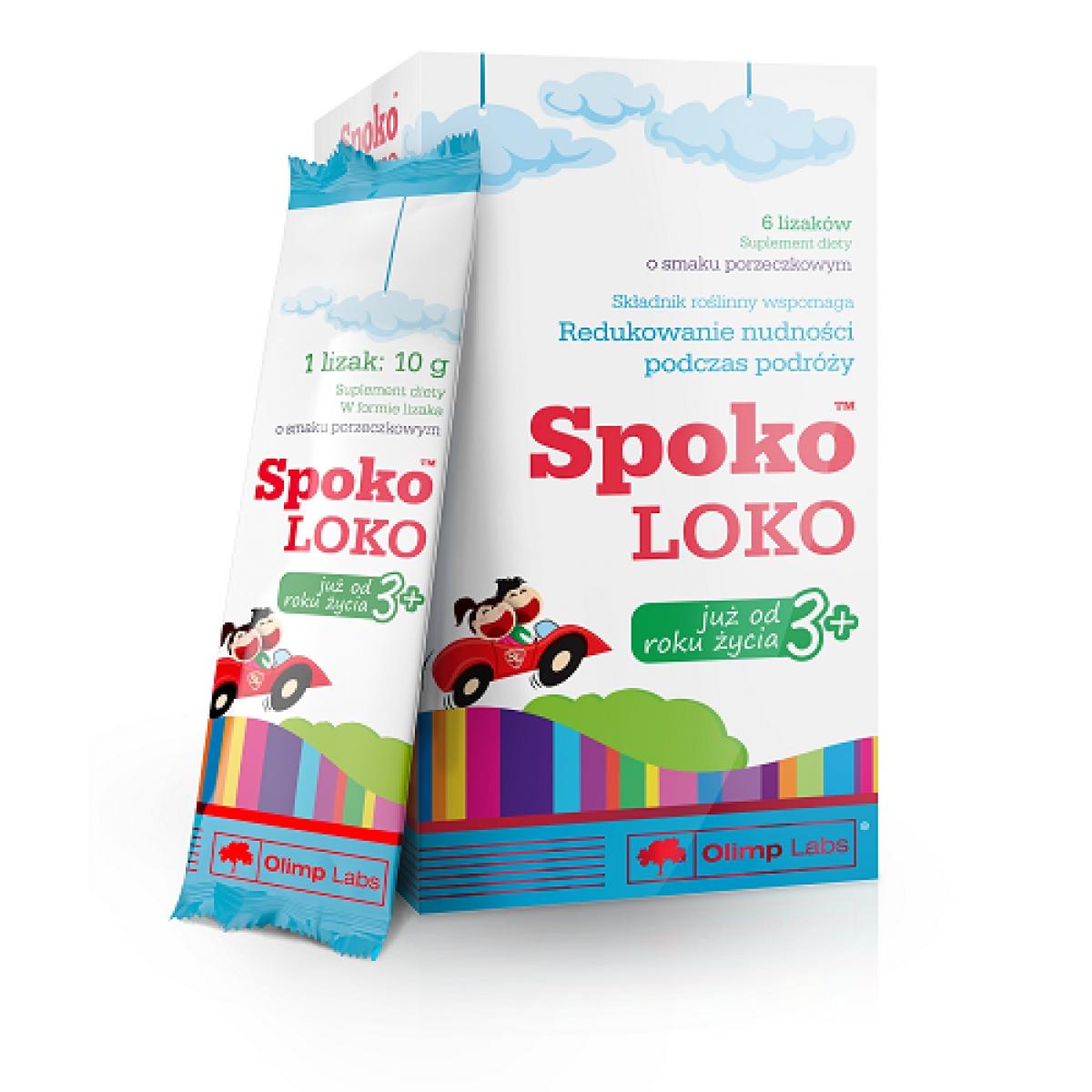 SPOKO LOKO, 6 LOLLIPOPS