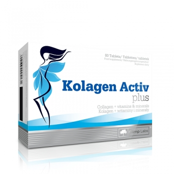 KOLAGEN ACTIV PLUS, 80 TABLETS