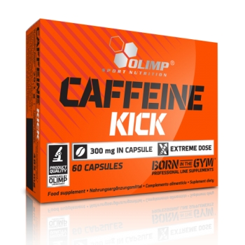 OLIMP CAFFEINE KICK, 60 КАПСУЛ