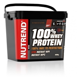 NUTREND 100% WHEY PROTEIN, 4000 Г