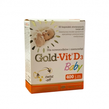 GOLD-VIT® D3 BABY, 60 KAPSUL