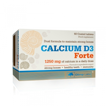 CALCIUM D3 FORTE, 60 TABLETS