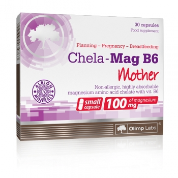 Chela-Mag B6 Mother, 30 KAPSUL