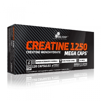 CREATINE 1250 MEGA CAPS,  120 KAPSUL