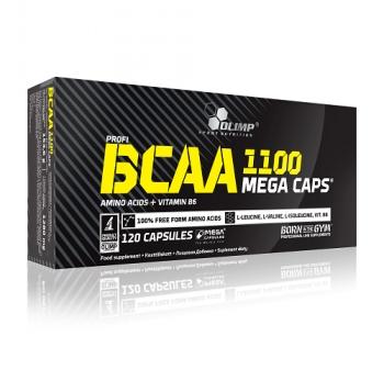 BCAA MEGA CAPS, 120 CAPSULES