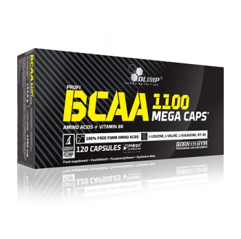 BCAA MEGA CAPS, 120 KAPSUL