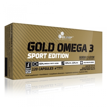 GOLD OMEGA 3 SPORT EDITION, 120 КАПСУЛ