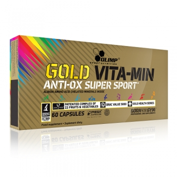 OLIMP GOLD VITA-MIN ANTI-OX SUPER SPORT, 60 CAPSULES