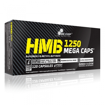 OLIMP HMB MEGA CAPS, 120 КАПСУЛ