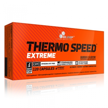 THERMO SPEED EXTREME, 120 CAPSULES