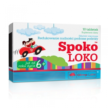 SPOKO LOKO, 10 TABLETS